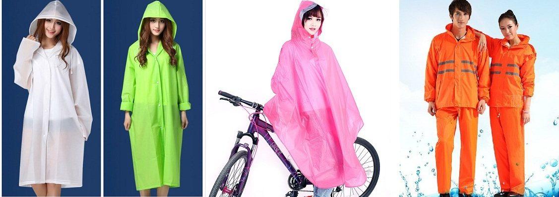 Đặt áo mưa quảng cáo