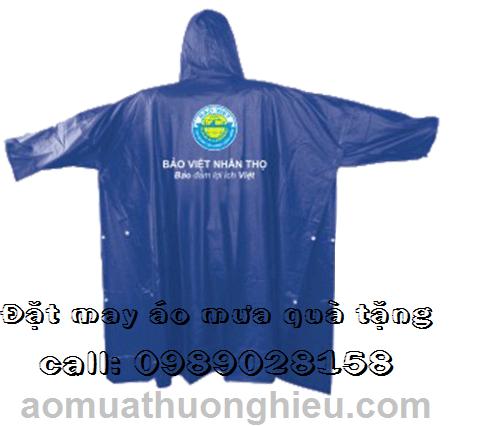 Làm áo mưa quảng cáo